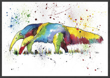 Load image into Gallery viewer, Anteater Animal Art Print
