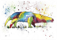 Load image into Gallery viewer, Anteater Animal Wall Art