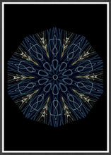 Load image into Gallery viewer, Asimov Kaleidoscope Print in a frame