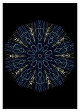 Load image into Gallery viewer, Asimov Kaleidoscope Print not in a frame