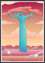 Load image into Gallery viewer, Grandidiers Baobab Tree Art Print