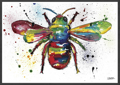 Bee Insect Illustration