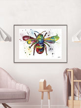 Load image into Gallery viewer, Bee Insect Illustration