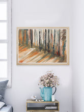 Load image into Gallery viewer, Bullfrog Forest Landscape Painting in a nice room
