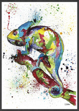 Load image into Gallery viewer, Chameleon Art Print