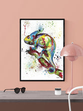 Load image into Gallery viewer, Chameleon Wall Art