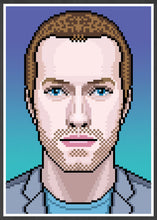 Load image into Gallery viewer, Chris Coldplay Art Print in frame