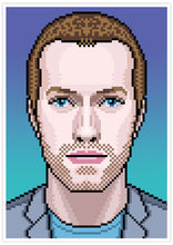 Load image into Gallery viewer, Chris Coldplay Art Print no frame