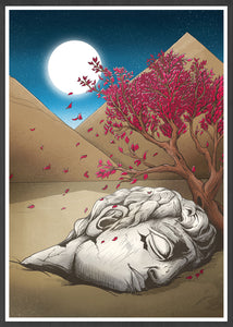 Classical Culture Digital Illustration Print