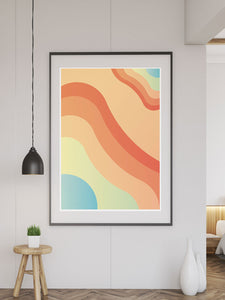 Clone Abstract Art Print