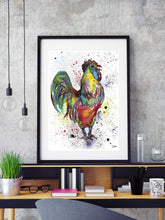 Load image into Gallery viewer, Cockerel Print
