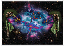 Load image into Gallery viewer, Dancing in Space Art Print not in a frame