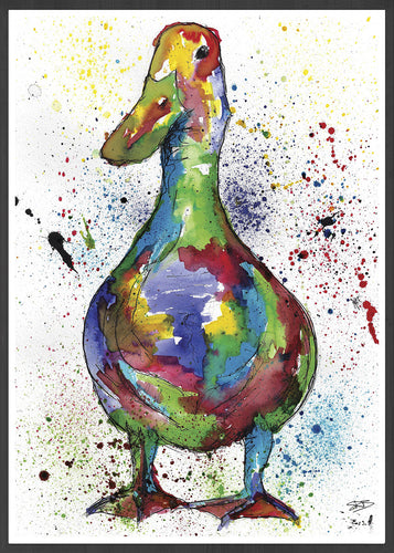 Duck Bird Art