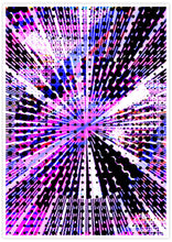 Load image into Gallery viewer, Eclipse Glitch Art Print not in a frame