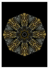 Load image into Gallery viewer, Edison Mandala Print not in a frame
