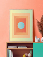 Load image into Gallery viewer, Egg Minimal Wall Art in a contemporary room