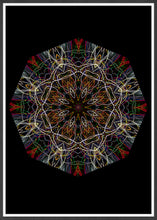 Load image into Gallery viewer, Endymion Symmetry Art Print in a frame
