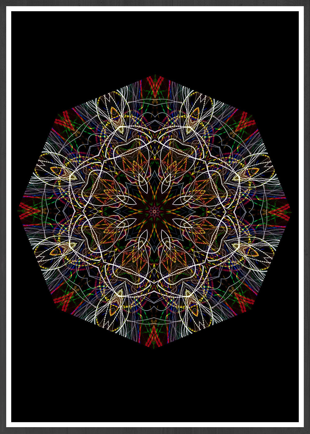 Endymion Symmetry Art Print in a frame