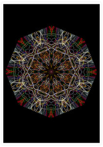 Endymion Symmetry Art Print not in a frame