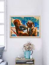 Load image into Gallery viewer, Final Round Boxing Wall Art in a gorgeous room