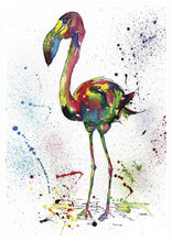 Load image into Gallery viewer, Flamingo Poster