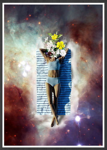 Floating Feeling Digital Collage Print