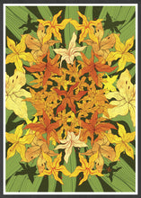Load image into Gallery viewer, Garden Mandala Botany Print