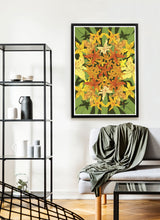 Load image into Gallery viewer, Garden Mandala Floral Print