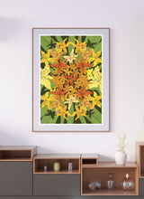 Load image into Gallery viewer, Garden Mandala Wall Art