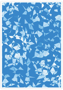 Geo Shower Geometric Digital Print no frame