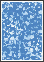 Load image into Gallery viewer, Geo Shower Geometric Digital Print in frame