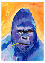 Load image into Gallery viewer, Gorilla Animal Portrait