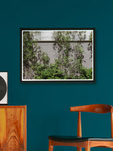Load image into Gallery viewer, Green Quarter Building Print in a modern room interior