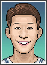 Load image into Gallery viewer, Heungmin Football Art Print in frame