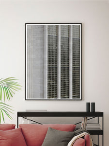 Stunning House of Fraser Manchester Art Print In a Contemporary Room