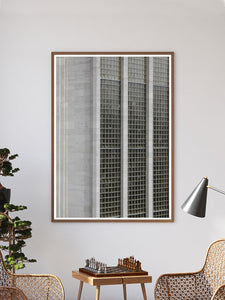 House of Fraser Manchester Art Print In a Traditional Frame