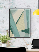 Load image into Gallery viewer, House Plants Botanical Pattern in a frame on a wall