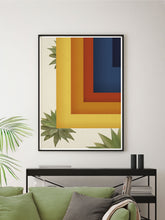 Load image into Gallery viewer, Gorgeous Retro Squares Geometric Wall Art