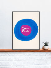 Load image into Gallery viewer, Inner Circle Quirky Print on a Shelf