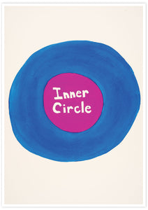 Inner Circle Quirky Print not in a frame