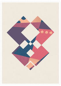 Geometric Art Poster no frame