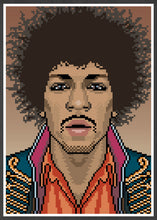 Load image into Gallery viewer, Jimi Music Icon Art Print in frame