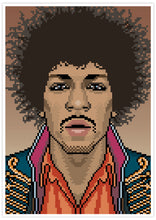 Load image into Gallery viewer, Jimi Music Icon Art Print no frame