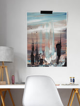 Load image into Gallery viewer, Koyo Beach Impression Painting in a modern room interior