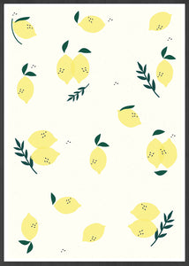 Limao Lemon Pattern Print