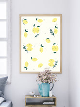 Load image into Gallery viewer, Limao Lemon Pattern Print