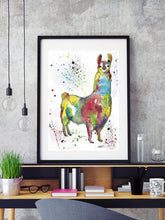 Load image into Gallery viewer, Llama Wall Art