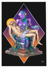 Load image into Gallery viewer, Madonna Scifi Wall Art