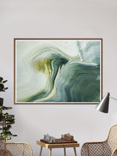 Load image into Gallery viewer, Malham 2 Macro Art Print in a traditional room