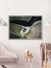 Load image into Gallery viewer, Malham 2 Macro Art Print in a bedroom
